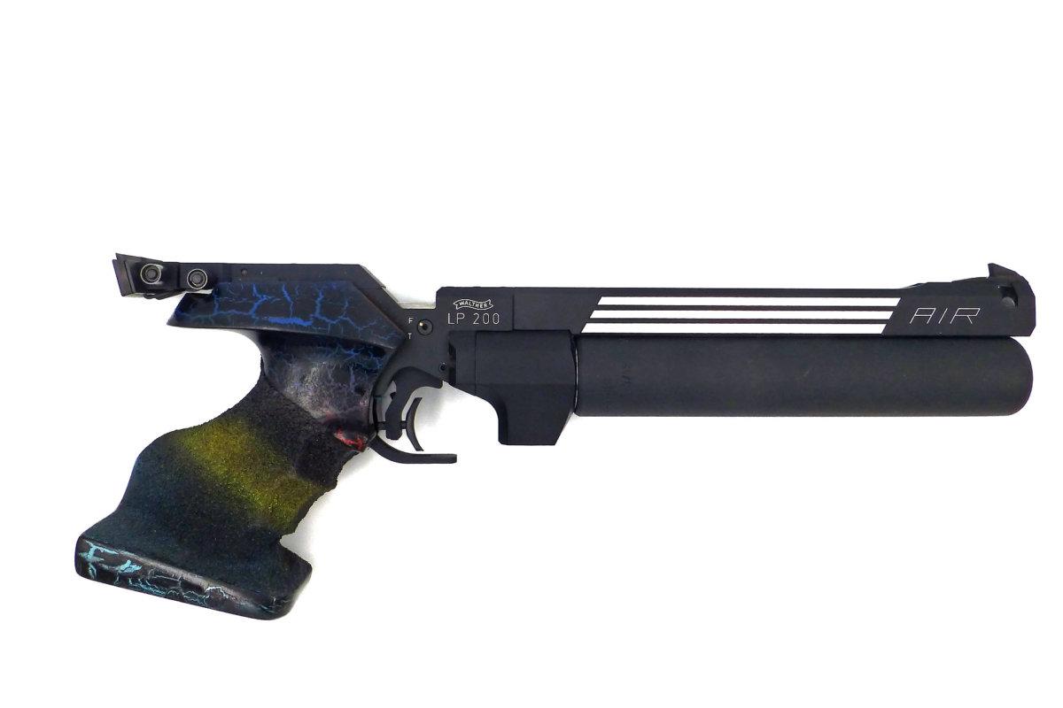 pistolet air comprim walther lp200 atelier d 39 armurerie roch custom gen ve suisse. Black Bedroom Furniture Sets. Home Design Ideas